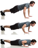 Push Ups Stock Photos