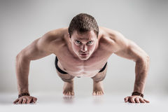 Push ups Royalty Free Stock Image