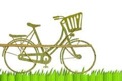 Pushbike от зеленого разрешения Стоковые Фотографии RF