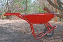 Pushcart della costruzione Fotografia Stock