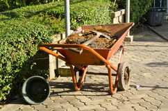 Pushcart number one Royalty Free Stock Images