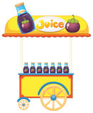 A pushcart selling fruit juice Royalty Free Stock Photos