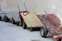 Pushcarts in Dubai Stock Images