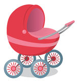 Pushchair. The figure shows a pram Stock Image
