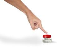 Pushing the Button Stock Photos