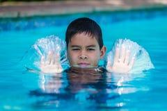 Pushing Water Stock Photography