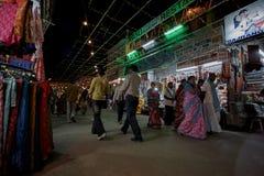 Pushkar δίκαιος sadar bazaar pushkar κύριος δρόμος ajmer πλησίον Rajasthan αγορών MELA στοκ εικόνες με δικαίωμα ελεύθερης χρήσης