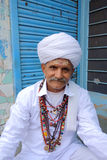 Rajasthan Portrait of Man Royalty Free Stock Images