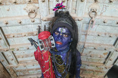 Pushkar barn Shiva Arkivbilder