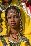 Pushkar Eerlijk (Pushkar-Kameel Mela) Rajasthan, India royalty-vrije stock afbeelding