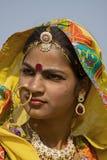 Pushkar Fair ( Pushkar Camel Mela ) Rajasthan, India Stock Photo
