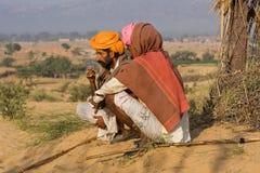 Pushkar Fair ( Pushkar Camel Mela ) Rajasthan, India Stock Photos