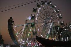 Pushkar fair at sunset Royalty Free Stock Images