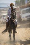 Pushkar Festival-India stock photography