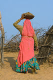 Pushkar ganska (den Pushkar kamlet Mela) Rajasthan, Indien arkivfoton