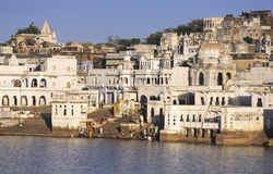 Pushkar ghats Royalty Free Stock Image