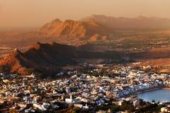 Pushkar Holy City Stock Photography
