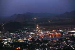 Pushkar Holy City Royalty Free Stock Photography