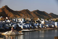 Pushkar Holy City Stock Photos