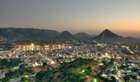 Pushkar the holy city India Stock Photo