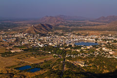 Pushkar Holy City, Rajasthan India Royalty Free Stock Photos
