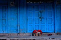Pushkar hus Royaltyfri Fotografi