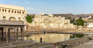 Pushkar, India. Around Town - The Lake Royalty Free Stock Images