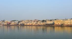 Cityscape of Pushkar, India Stock Photo