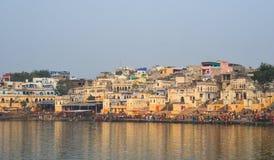 Cityscape of Pushkar, India Stock Images