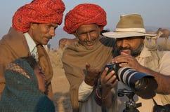 Pushkar, India - November 2011 Royalty-vrije Stock Foto