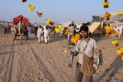 Pushkar, India - November 2011 Royalty-vrije Stock Foto's