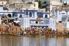 Pushkar Indien. Royaltyfria Bilder