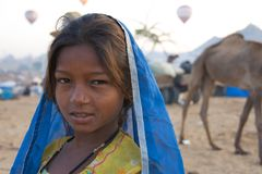 Pushkar, Indien - November 2011 Lizenzfreies Stockbild