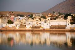 Pushkar la India Imagen de archivo libre de regalías