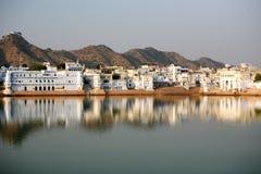 Pushkar la India Imagenes de archivo