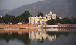 Pushkar la India Fotos de archivo