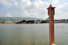 Pushkar lake Royalty Free Stock Images