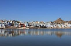 Pushkar lake in Pushkar Stock Photography