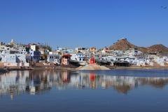 Pushkar lake in Pushkar Stock Images