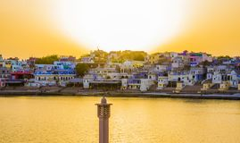 Pushkar Lake stock photography