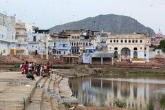 Pushkar, Rajastan Obrazy Royalty Free