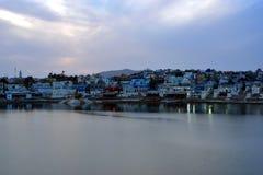 Pushkar sjö eller Pushkar Sarovar på Pushkar - Rajasthan - Indien Arkivfoto