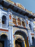 Pushkar Temple Rishikesh India. Pushkar Temple on Pushkar Mandir Rd, Rishikesh, district of Uttarakhand, India. One of the most beautifully colorful and royalty free stock photos