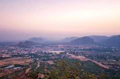 Pushkar top view , Rajasthan Royalty Free Stock Images