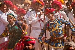 Pushkar variopinto giusto Immagine Stock