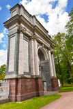 Pushkin. Catherine Park. Orlov (Gatchinskiye) Gate Royalty Free Stock Images