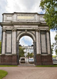 Pushkin. Catherine Park. Orlov (Gatchinskiye) Gate Royalty Free Stock Image