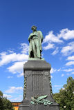 Pushkin monument in Moscow Stock Photography