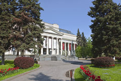 The Pushkin Museum of Fine Arts in Moscow Stock Photography