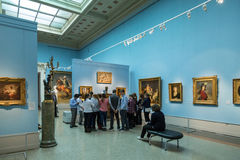 Pushkin Museum of Fine Arts in Moscow Stock Photos